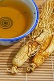 Sopa tradicional 01 del Ginseng Fotografía de archivo