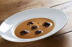 Sopa tradicional da ameixa Imagem de Stock