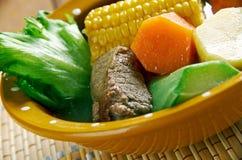 Sopa tradicional mexicana Imagenes de archivo