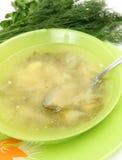 Sopa vegetal Fotos de Stock Royalty Free
