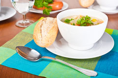 Sopa vegetal Imagem de Stock