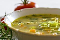 Sopa vegetal Fotos de Stock
