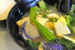Sopa vegetal chinesa imagens de stock royalty free