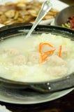 Sopa vegetal do Meatball Imagens de Stock