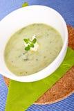 Sopa verde Imagenes de archivo