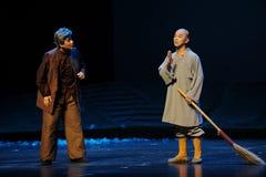 SoparemunkJiangxi opera en besman Fotografering för Bildbyråer