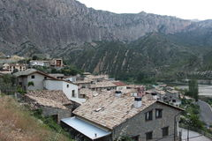 Sopeira Huesca Arkivfoton