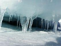sopel lodu zdjęcie royalty free