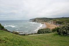 Sopelana beach Royalty Free Stock Photo