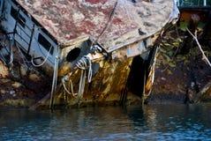 Soper's Hole Shipwreck Stock Image