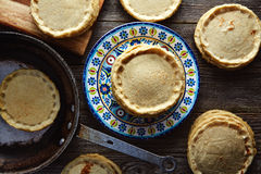 Sopes handmade mexican traditional food Royalty Free Stock Photo