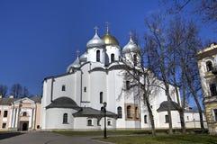 sophia Ουκρανία του Κίεβου Άγιος κεντρικών πόλεων καθεδρικών ναών Στοκ Εικόνα