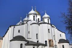 sophia Ουκρανία του Κίεβου Άγιος κεντρικών πόλεων καθεδρικών ναών Στοκ φωτογραφίες με δικαίωμα ελεύθερης χρήσης