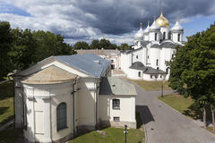 sophia Ουκρανία του Κίεβου Άγιος κεντρικών πόλεων καθεδρικών ναών Velikiy Novgorod Ρωσία Στοκ εικόνα με δικαίωμα ελεύθερης χρήσης