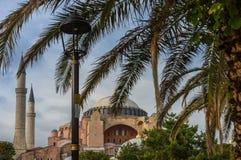 sophia της Κωνσταντινούπολης hag Στοκ Εικόνες