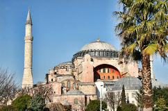 sophia της Κωνσταντινούπολης hag Στοκ Φωτογραφίες
