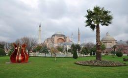 sophia της Κωνσταντινούπολης hag Στοκ Εικόνα
