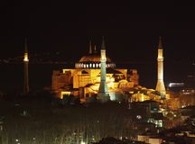 sophia Τουρκία της Κωνσταντιν&omi Στοκ Εικόνες