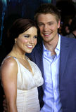 Sophia Bush and Chad Michael Murray Stock Images