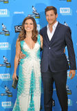 Sophia Bush & Dan Fredinburg. LOS ANGELES, CA - JULY 31, 2013: Sophia Bush & Google executive Dan Fredinburg at the 2013 Do Something Awards at The Avalon Royalty Free Stock Photo