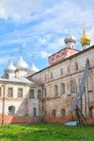 Sophia Cathedral and Bishops yard. Sophia Cathedral and Bishops yard in Vologda, Russia Royalty Free Stock Photo