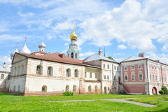 Sophia Cathedral and Bishops yard. Sophia Cathedral and Bishops yard in Vologda, Russia Royalty Free Stock Photography