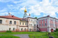 Sophia Cathedral and Bishops yard. Sophia Cathedral and Bishops yard in Vologda, Russia Stock Photography