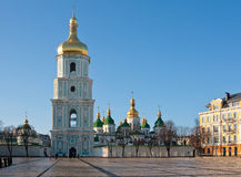 Sophia Cathedral in Kiev Stock Images