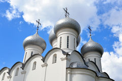 Sophia Cathedral in Vologda. Sophia Cathedral - Orthodox church, now a museum in Vologda, Russia. Erected in 1568 - 1570 years on the orders of Ivan the Royalty Free Stock Images