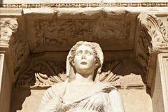 Sophia Göttin der Klugheit-alten Statue Lizenzfreie Stockfotos