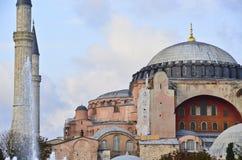 Sophia Hagia. Inside the Sophia Hagia in Istanbul, Turkey Stock Images