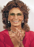 Sophia Loren Imagens de Stock