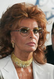 Sophia Loren. The most popular Italian actress, Academy Award-winning actress and former sex symbol Royalty Free Stock Image