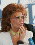 Sophia Loren Royalty Free Stock Photo