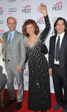 Sophia Loren & Edoardo Ponti & Carlo Ponti. LOS ANGELES, CA - NOVEMBER 12, 2014: Sophia Loren & sons Edoardo Ponti (left) & Carlo Ponti at the American Film Stock Images