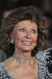 Sophia Loren. LOS ANGELES, CA - NOVEMBER 12, 2014: Sophia Loren at the American Film Institute's special tribute gala in her honor as part of the AFI FEST 2014 Stock Photography