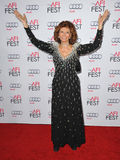 Sophia Loren. LOS ANGELES, CA - NOVEMBER 12, 2014: Sophia Loren at the American Film Institute's special tribute gala in her honor as part of the AFI FEST 2014 royalty free stock photo