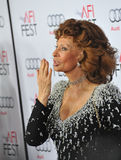 Sophia Loren. LOS ANGELES, CA - NOVEMBER 12, 2014: Sophia Loren at the American Film Institute's special tribute gala in her honor as part of the AFI FEST 2014 Royalty Free Stock Images