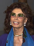 "Sophia Loren. Oscar-winning actress Sophia Loren appears on the red carpet for the world premiere of ""Human Voice,"" a short film in which she stars, based on Stock Photo"