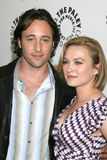 Sophia Myles,Alex O'Loughlin Stock Image