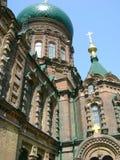 Sophia russian church. Sophia church in Harbin China Royalty Free Stock Image