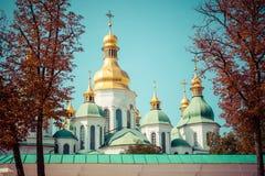 Καθεδρικός ναός Αγίου Sophia ` s, Kyiv, Ουκρανία Ένα από το παλαιότερο churc στοκ εικόνα
