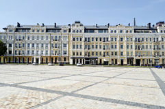 Sophia Square. Old building on Sophia Square in Kiev, Ukraine Royalty Free Stock Photos