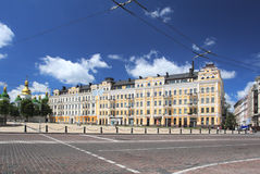 Sophia square. On of the central places in the Kiev. Sophia square Stock Image