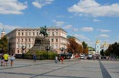 Sophia square, Kiev Royalty Free Stock Images