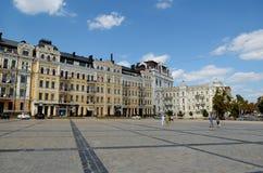 Sophia square, Kiev Royalty Free Stock Image