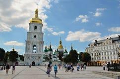 Sophia square, Kiev Royalty Free Stock Photos