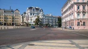 Sophia Square in Kyiv Fotografia Stock Libera da Diritti