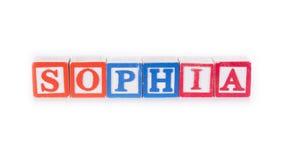 Sophia Royalty Free Stock Photos