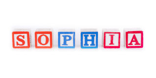 Sophia Royalty Free Stock Images